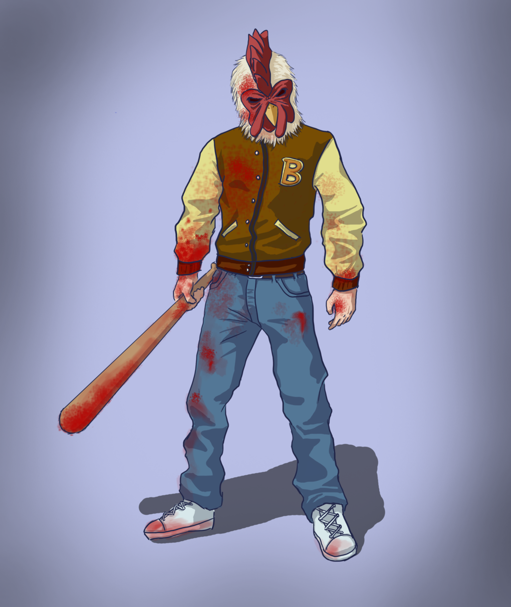 Jacket Hotline Miami Wallpapers