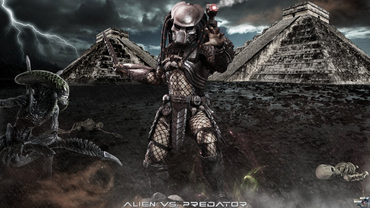 AVP Ancient Predator Hot Toys HD Wallpaper by DavidCreativeDesigns on 1191x670
