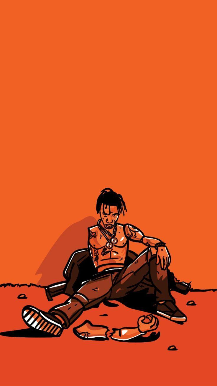 Travis Scott Wallpapers   Top Travis Scott Backgrounds 736x1308