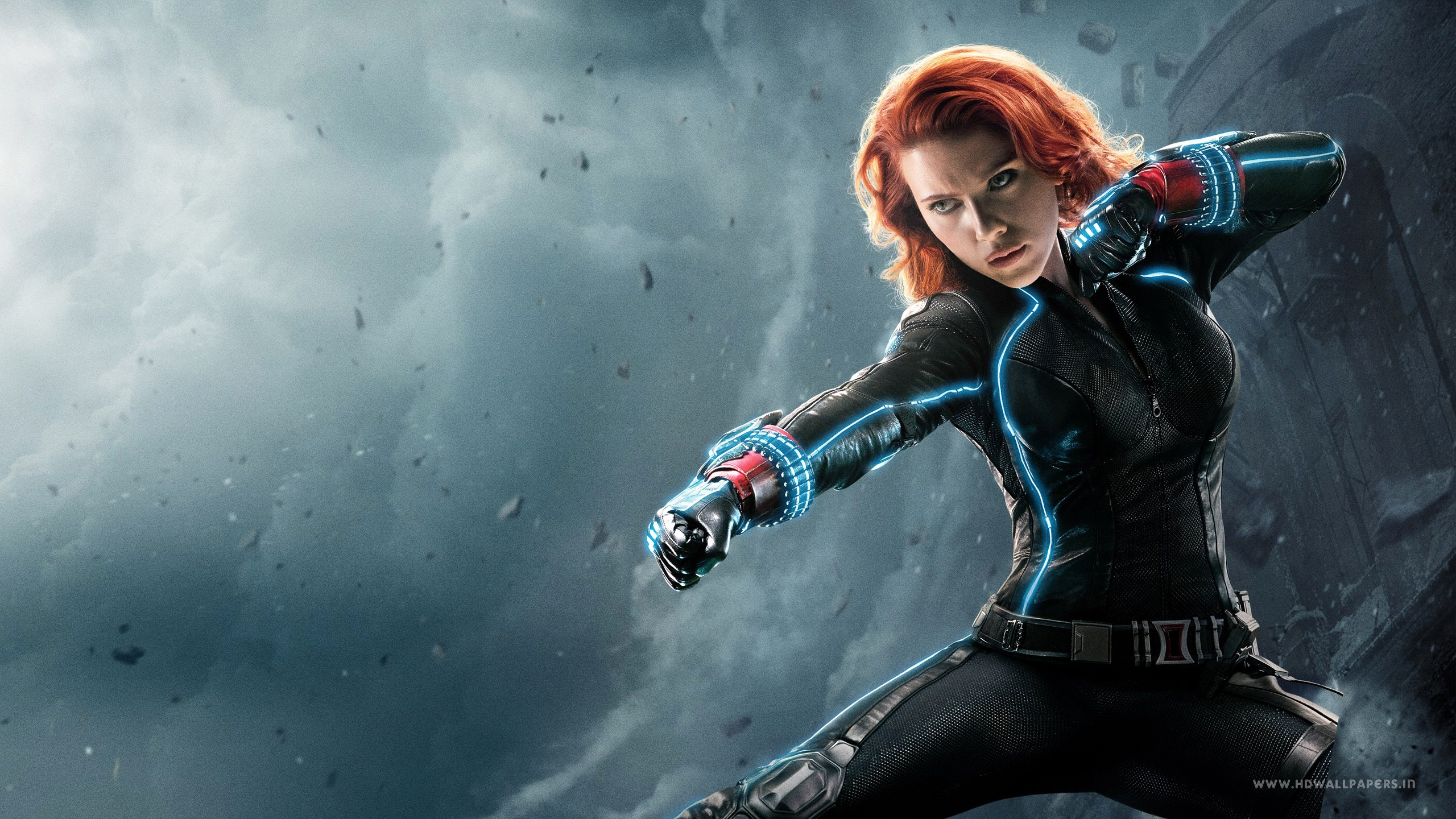 Avengers Age of Ultron Black Widow Wallpapers HD Wallpapers 2560x1440