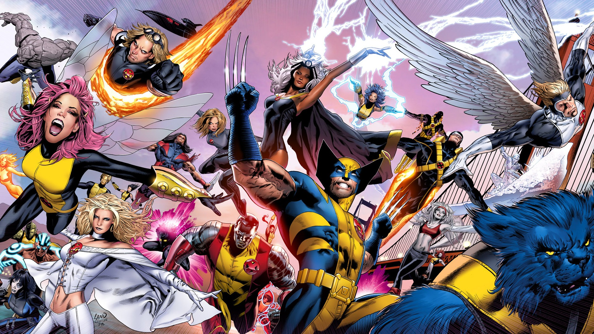 Astonishing X Men 31 desktop wallpaper 1920x1080