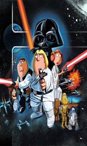 307x512px Family Guy Star Wars Wallpaper Wallpapersafari