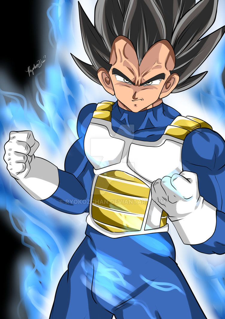 Ultra Instinct Vegeta by RyokoZchan 751x1063