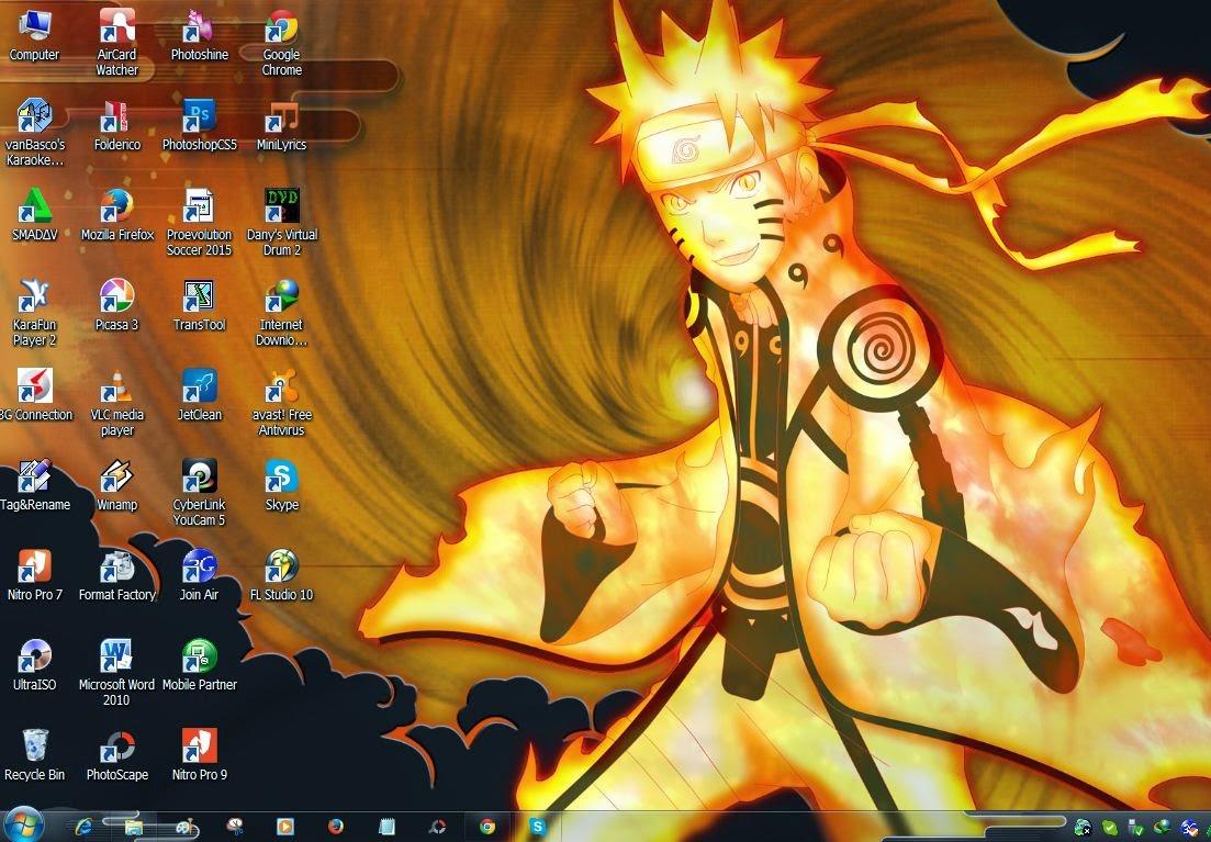 Tema Naruto Shipuden Windows 7 Terbaru 2015 1103x767