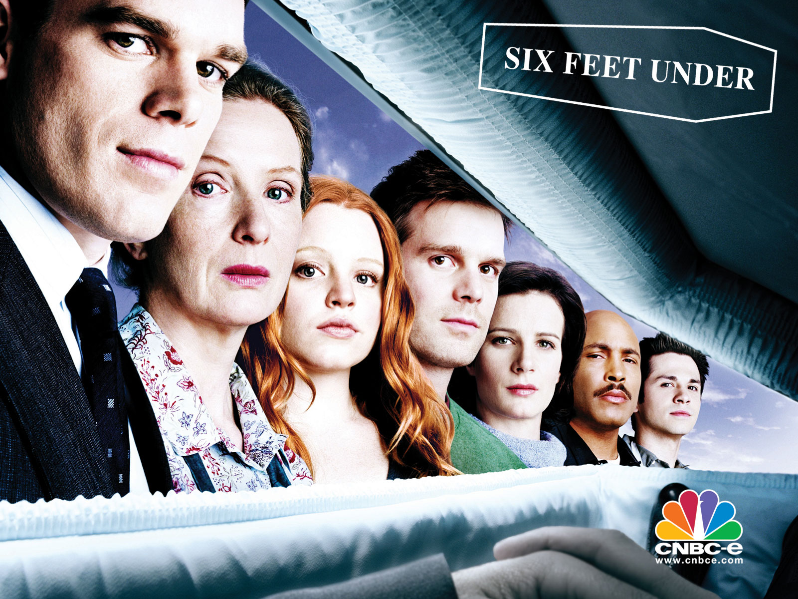 6 feet under Six feet under is an american drama television series created and produced by alan ballit premiered on the premium cable network hbo in the united states on june 3, 2001, and ended on august 21, 2005, spanning five seasons and 63 episodes.