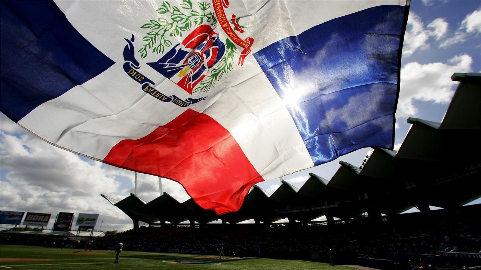 GRAAFIXBLOGSPOTCOM Flag of Dominican Republic 1600x900