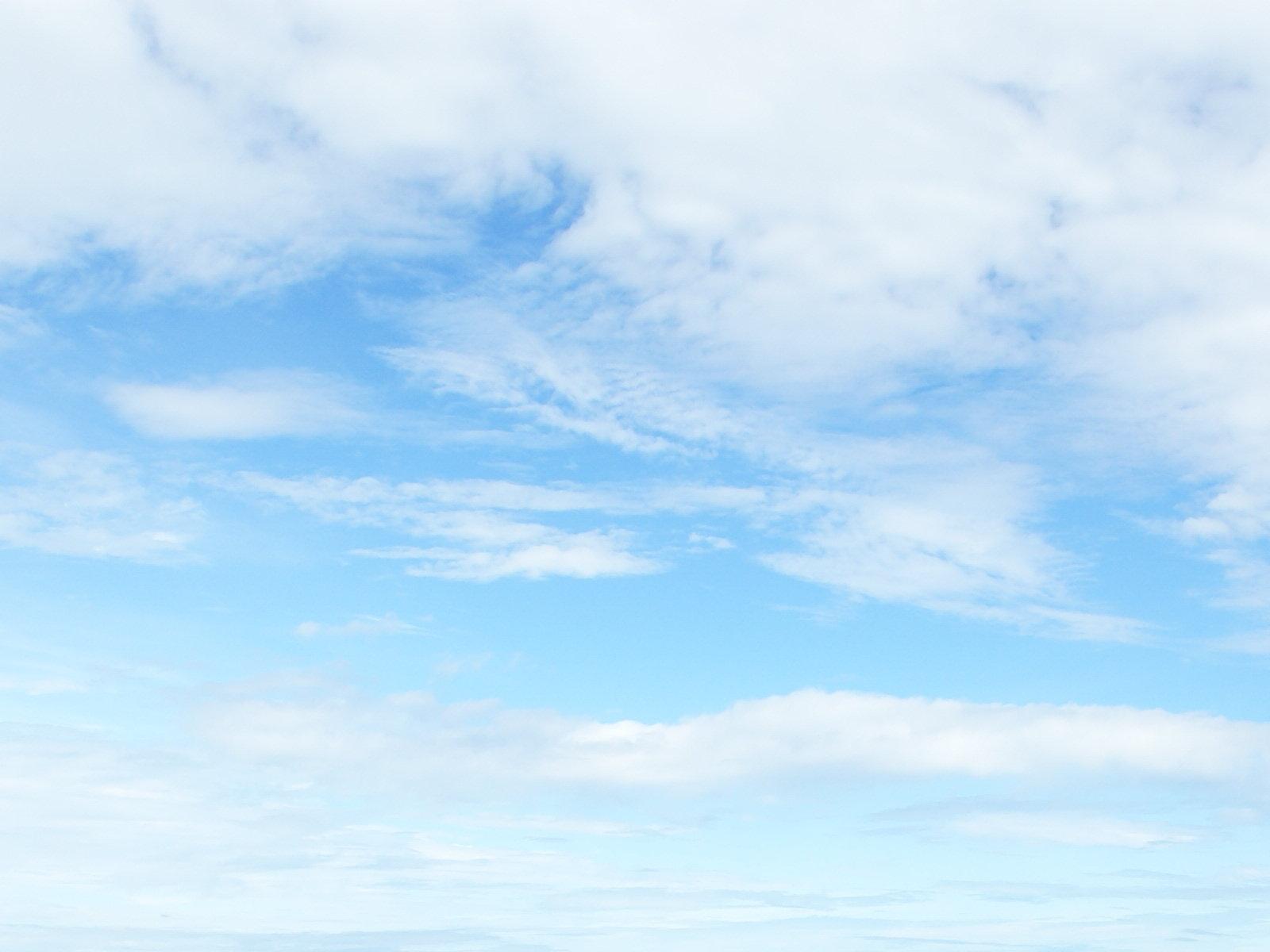 Blue sky wallpaper 1600x1200