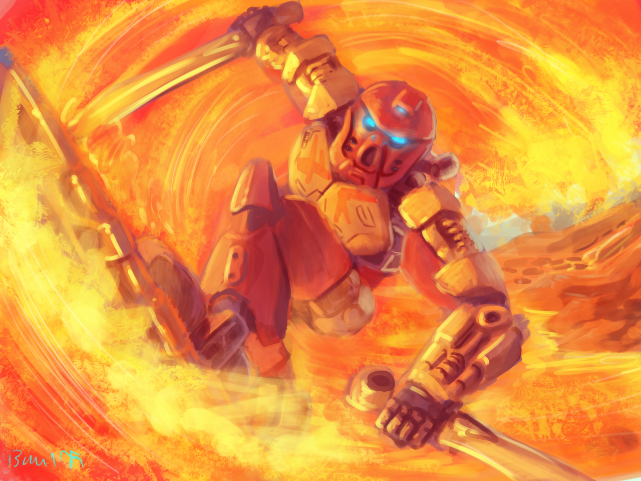 Toa Tahu Master of Fire Bionicle Know Your Meme 1280x960