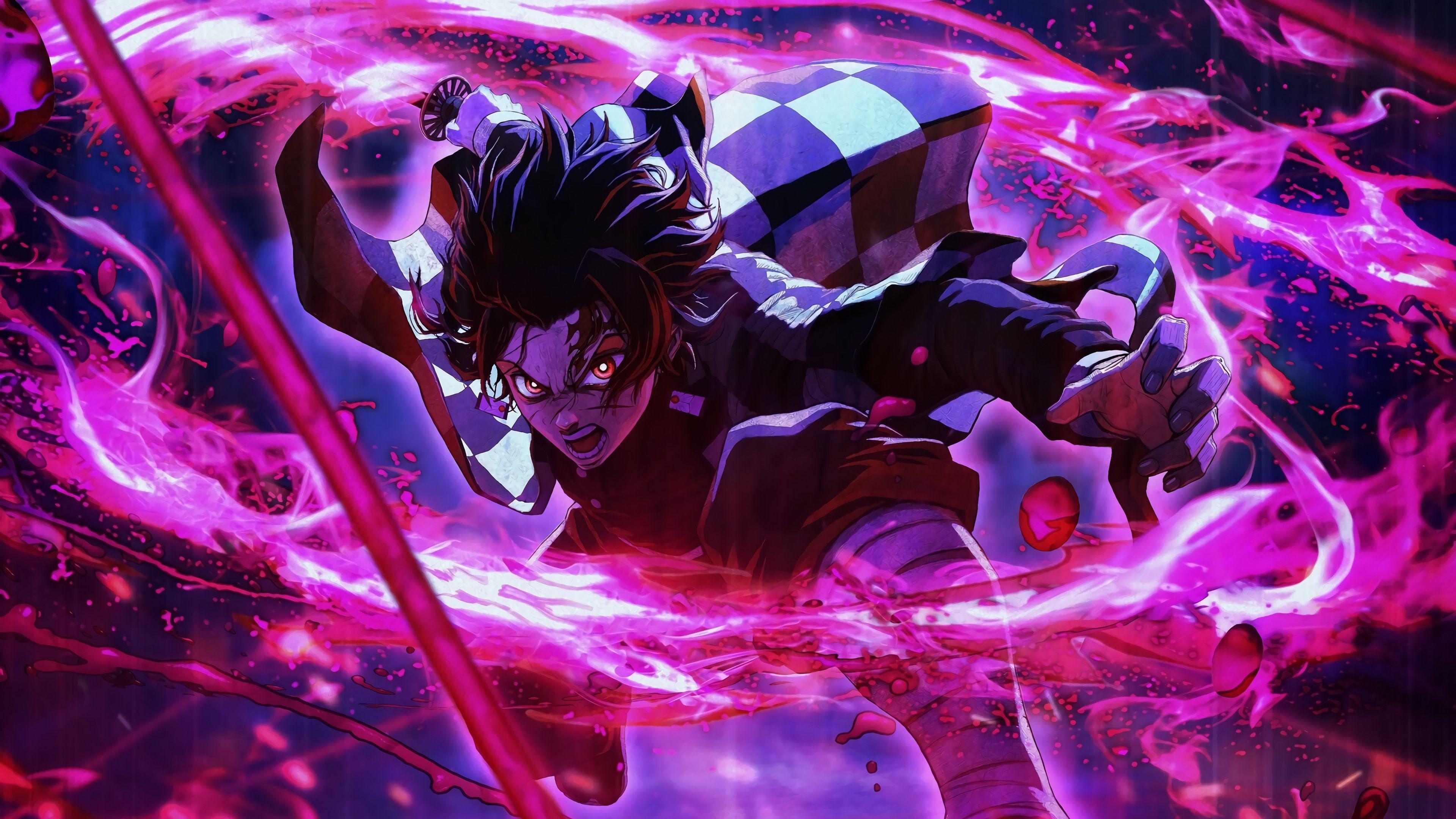 Tanjiro The DemonSlayer Anime wallpaper Hd anime wallpapers 3840x2160