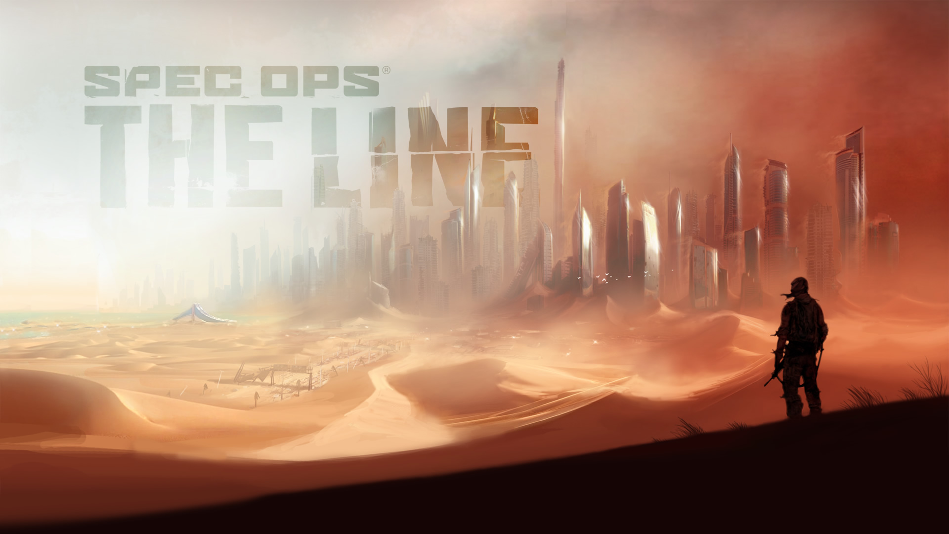 Wallpaper 1 Wallpaper from Spec Ops The Line gamepressurecom 1920x1080