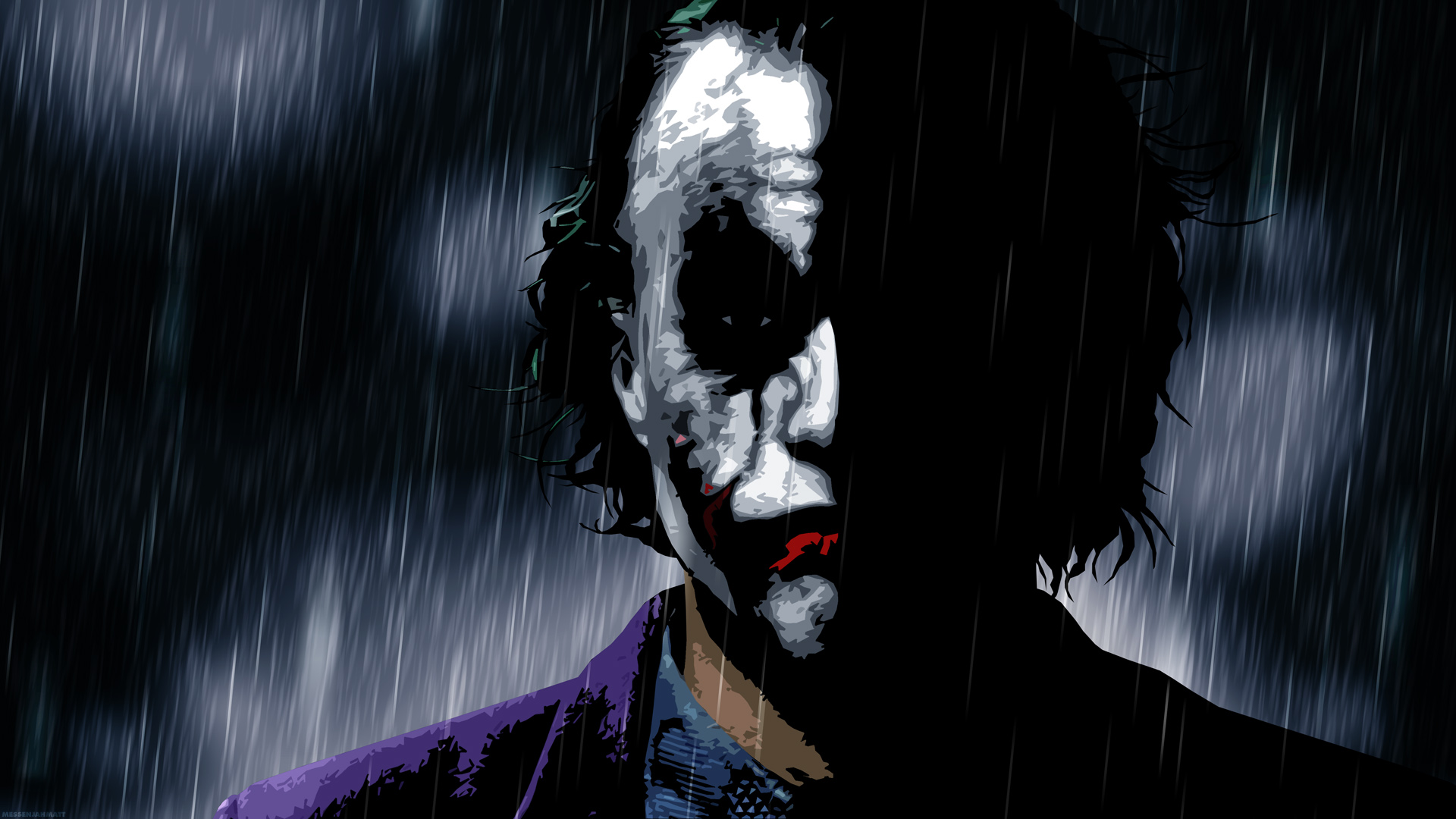 te guste tanto como a nosotros este fondo en alta resolucin de Joker 1920x1080