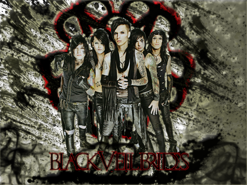 Black Veil Brides Wallpaper by LivingDeadSmurf 800x600