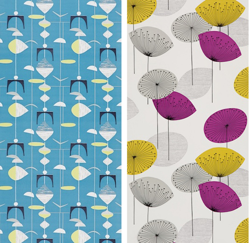 Wallpaper is back with a vengeance Modern Charlotte NC Homes For 500x488