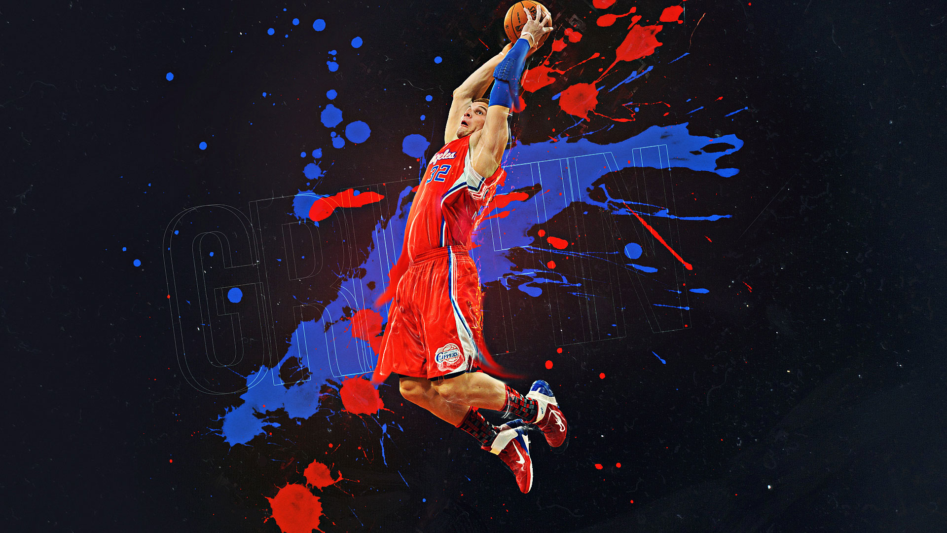 Get The Latest Hd And Mobile Nba Wallpapers Today: Blake Griffin Wallpapers