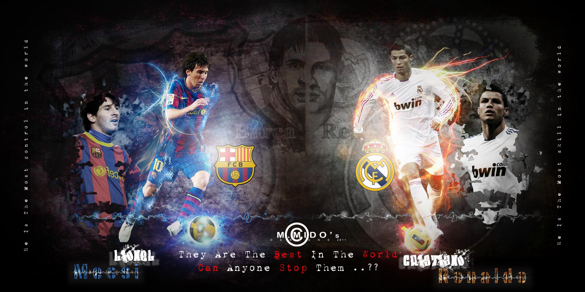 Ronaldo Vs Messi favloadcom 2000x1000