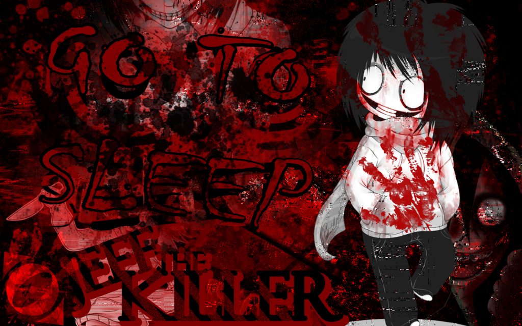 Jeff The Killer Anime Wallpaper Go To Sleep