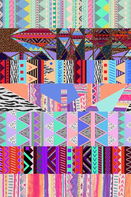 aztec wallpaper Tumblr 430x645