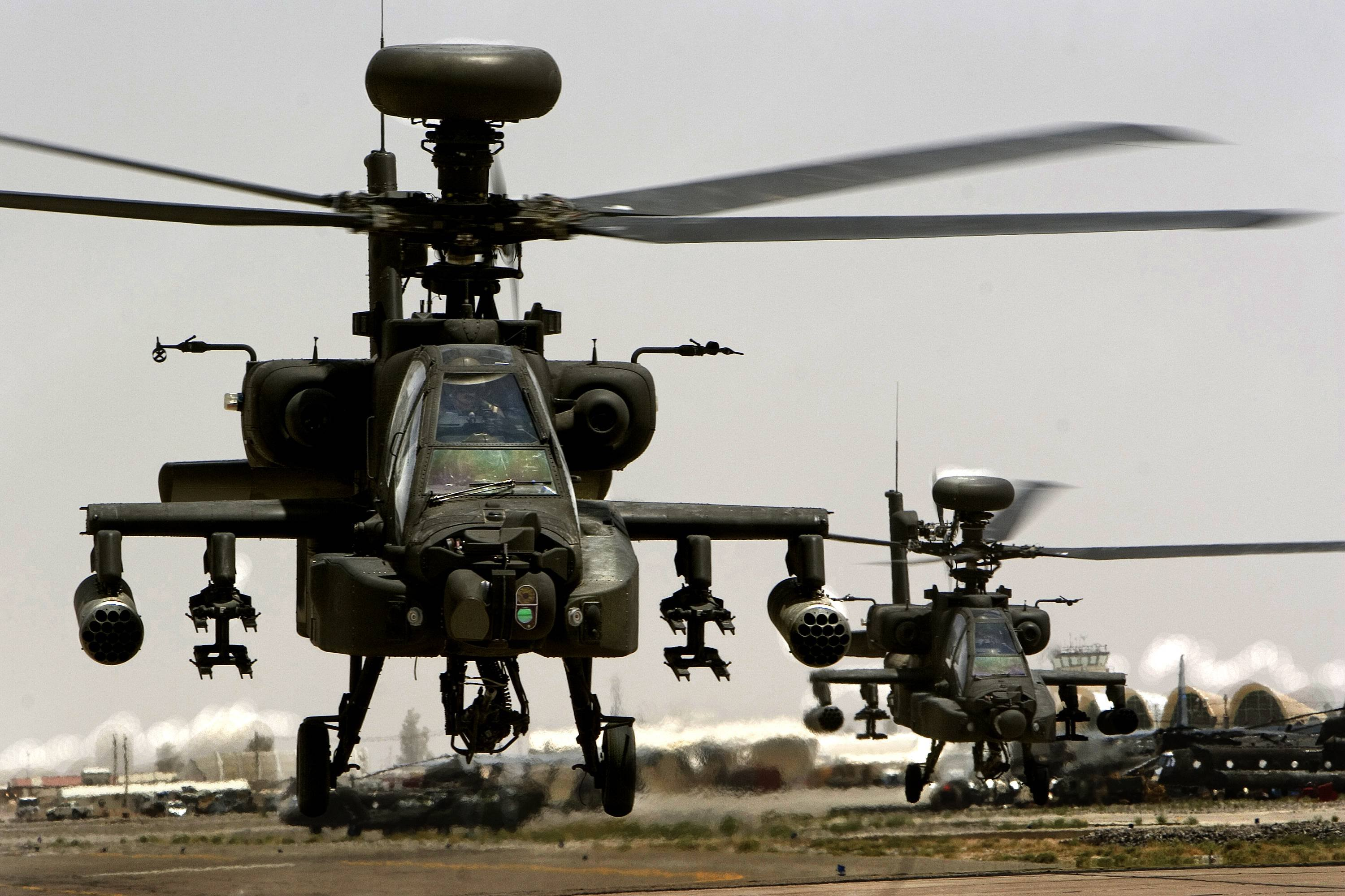 Apache Helicopter High Resolution Wallpapers 3000x2000