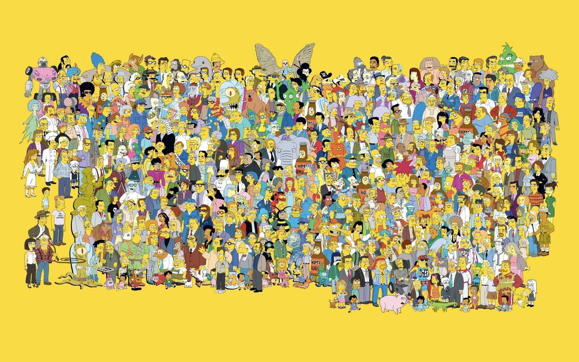 The Simpsons Wallpapers HD 1920x1200