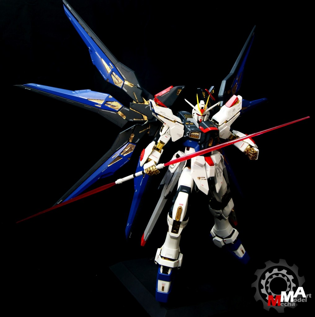 PG 160 Strike Freedom Gundam Painted Build Photoreview Wallpaper 1016x1024