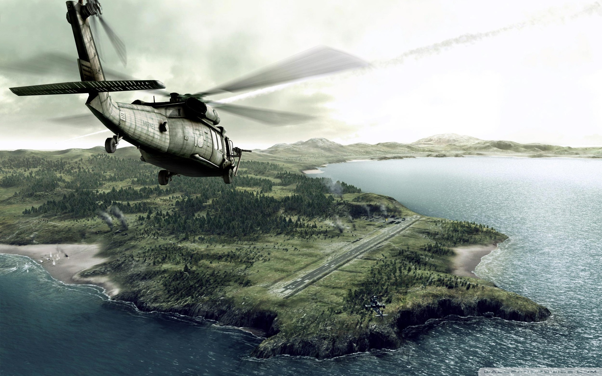 helicopter wallpaper 2 wide Helicopter wallpapers 1920x1200