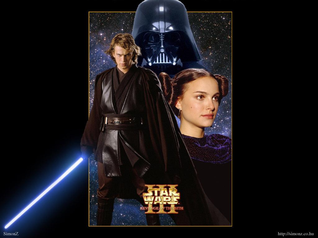 Anakin and Padme Anakin Padm wallpaper 1024x768