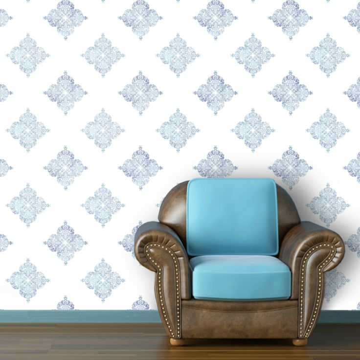 Moroccan Inspired Removable Wallpaper For the Home Pinterest 736x736