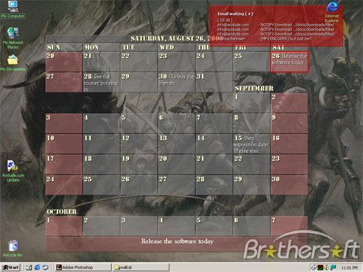 Desktop Wallpaper Calendar Desktop Wallpaper 512x384
