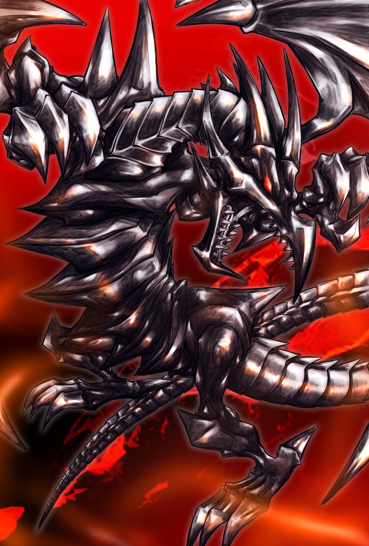 77 Red Eyes Black Dragon Wallpaper On Wallpapersafari