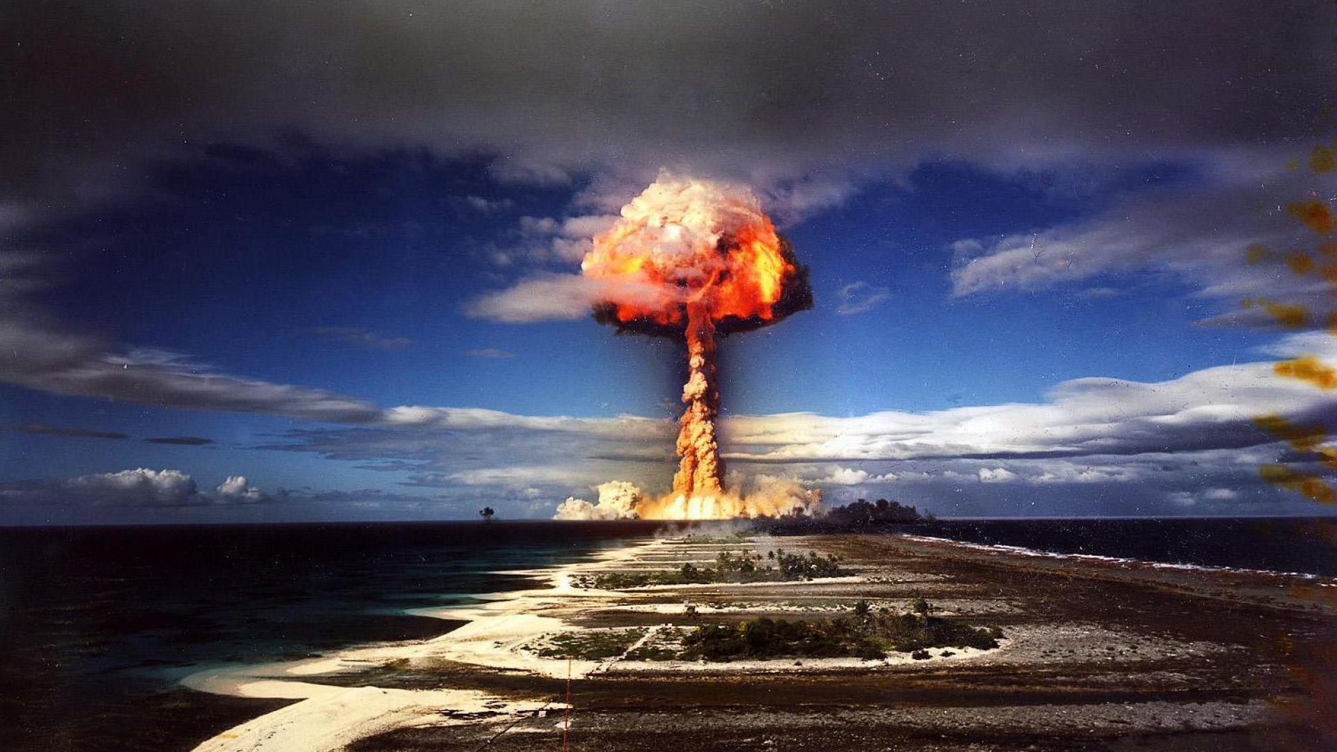 Nuclear Explosion Wallpapers 1920x1080