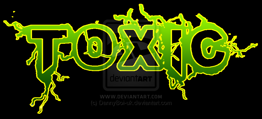 Toxic Logo Toxic logo by dannyboi uk 900x410