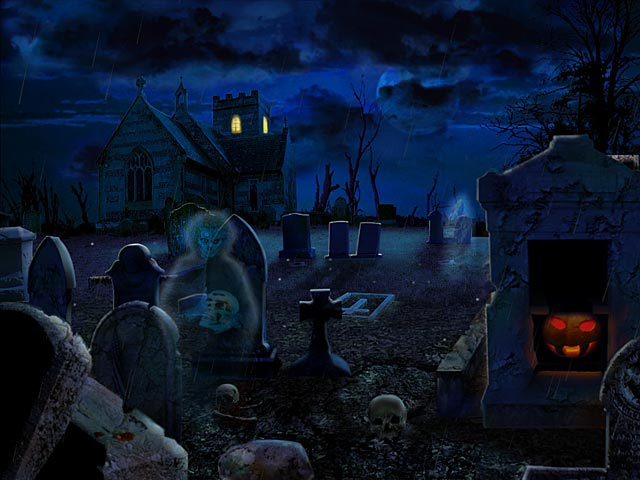 Halloween Screensavers to Scare You Through October 640x480