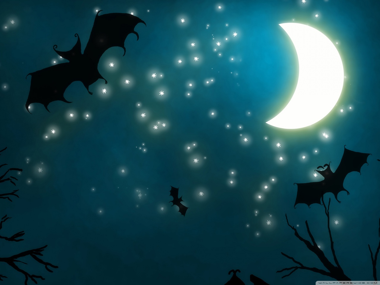 Halloween Night Wallpaper   CVIAUTO 1280x960