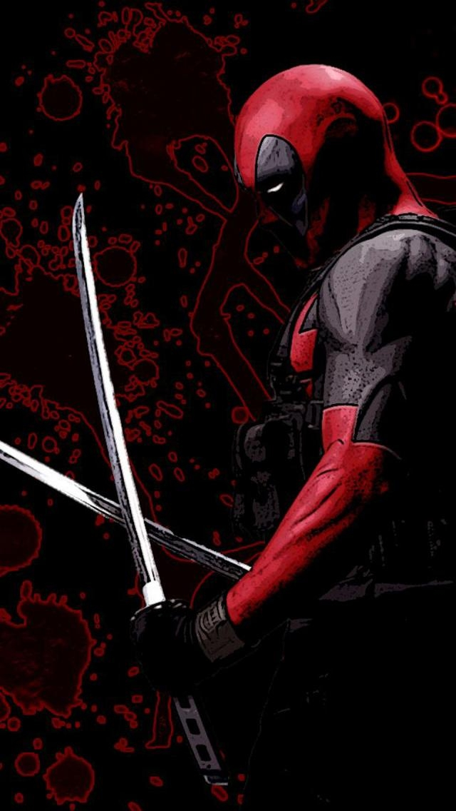 Deadpool Wallpaper Mobile Wallpapersafari