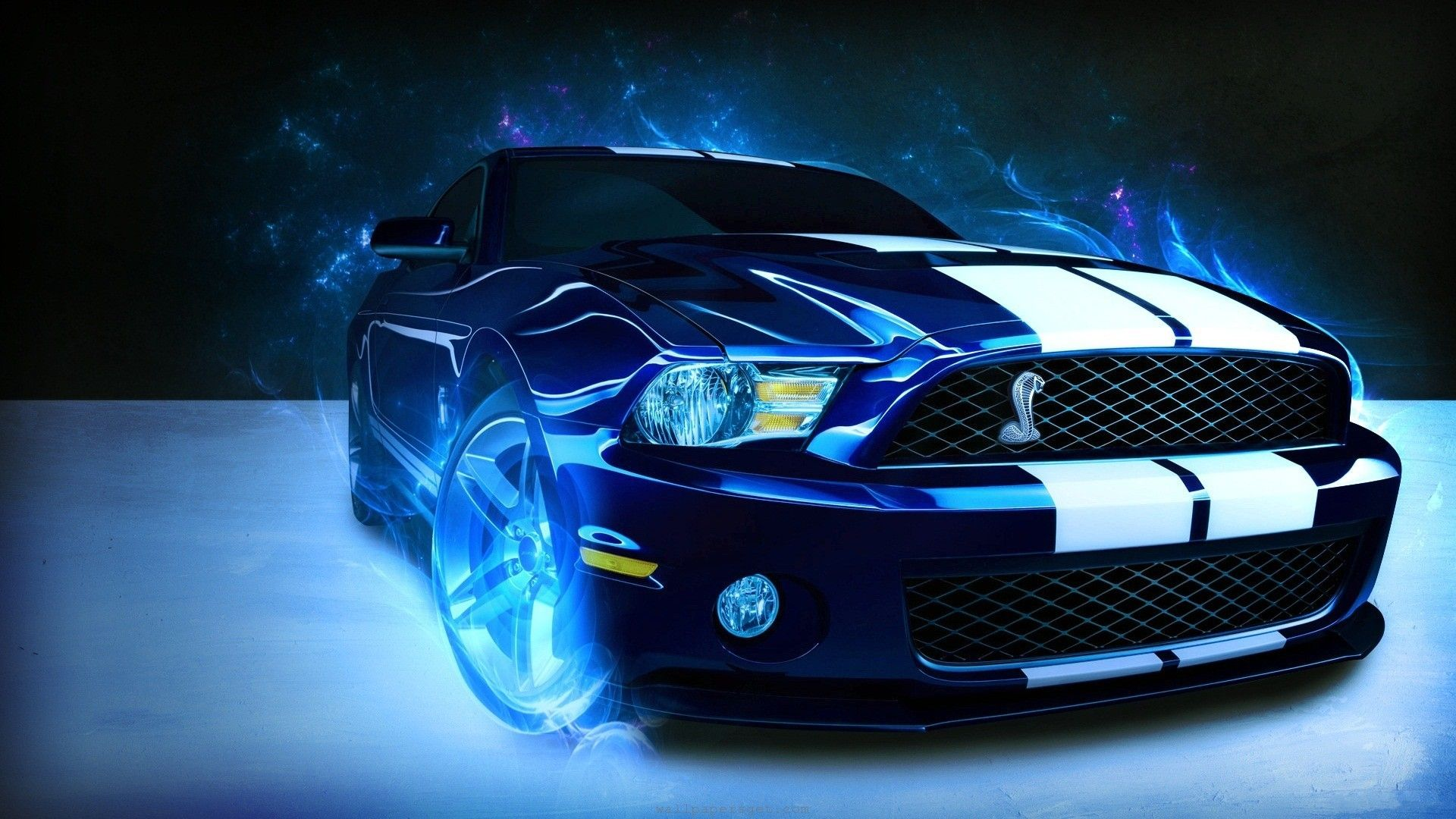 Blue Mustang Wallpapers   Top Blue Mustang Backgrounds 1920x1080
