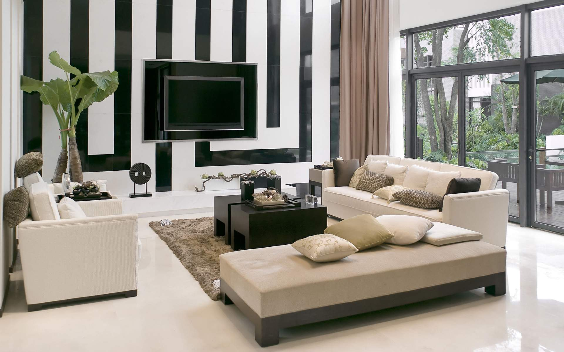 Modern Interior Design Living Room 10237 Hd Wallpapers in Architecture 1920x1200