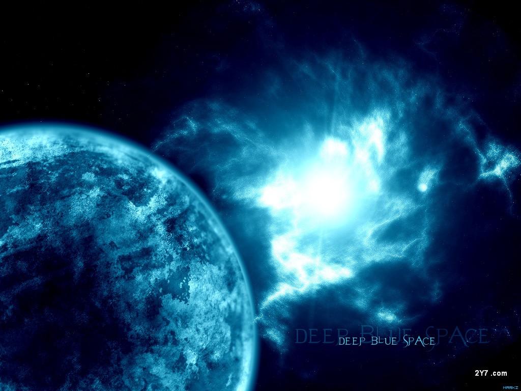 Deep Blue Space by Zkram   Space Photography Desktop Wallpapers 2469 1024x768