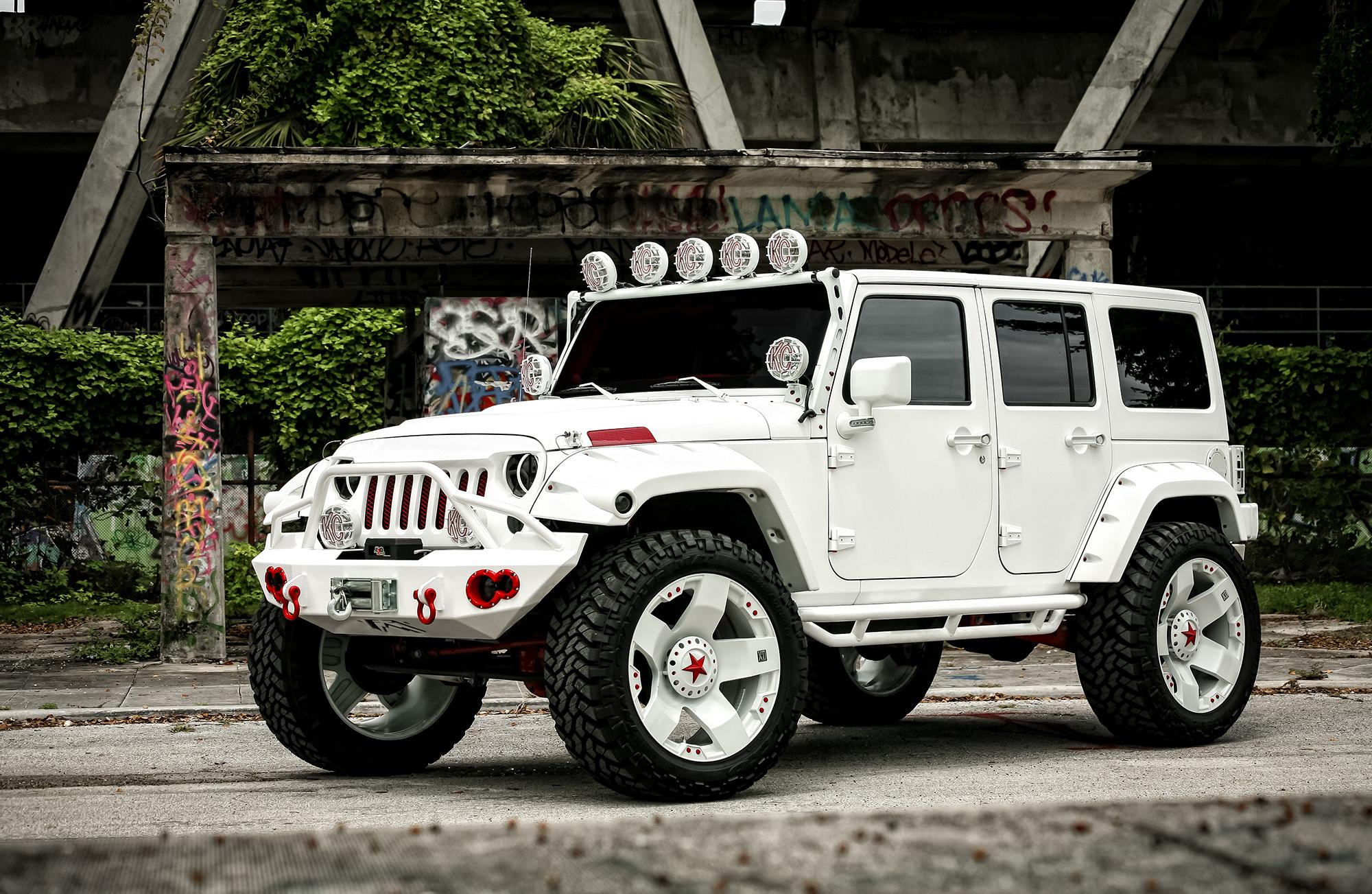 Lifted Jeep Srt8 >> White Jeep Wrangler Wallpaper - WallpaperSafari