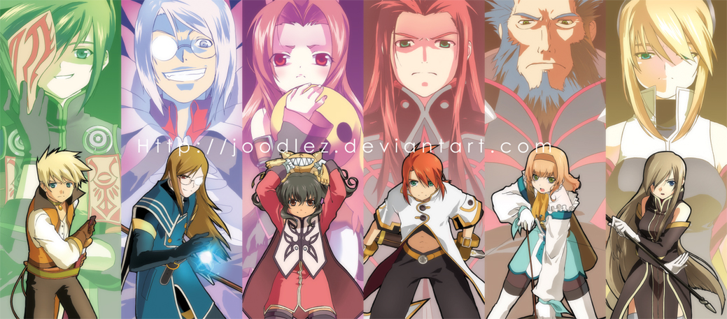 Wallpapers De Tales Of The Abyss 1039x457