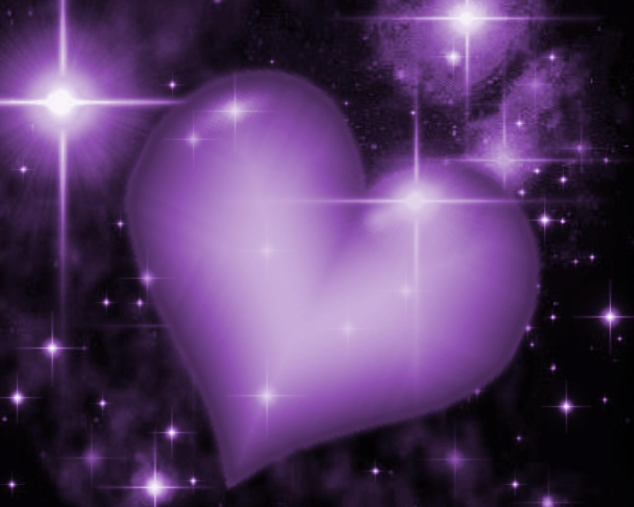 Wallpapers Cute Purple Heart X 1280x1024 65980 cute 1280x1024