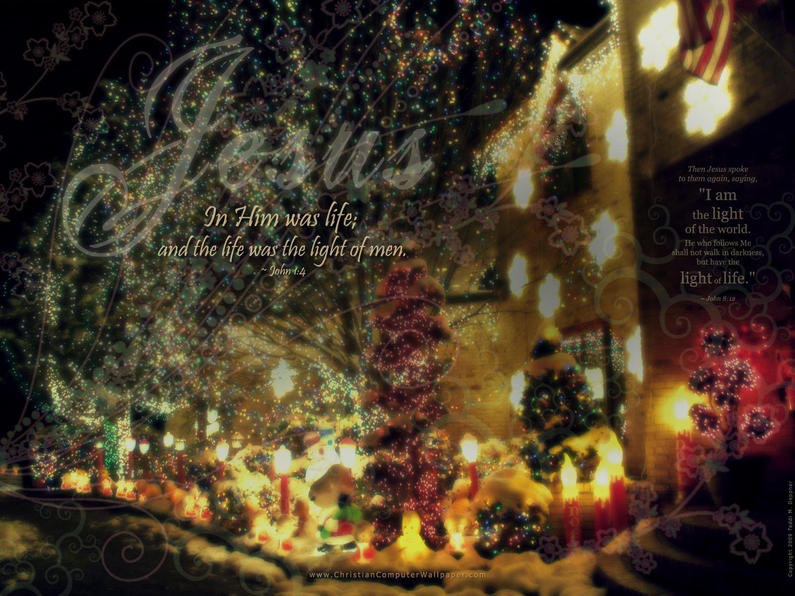 mat denan Christmas Christian Wallpapers 1600x1200
