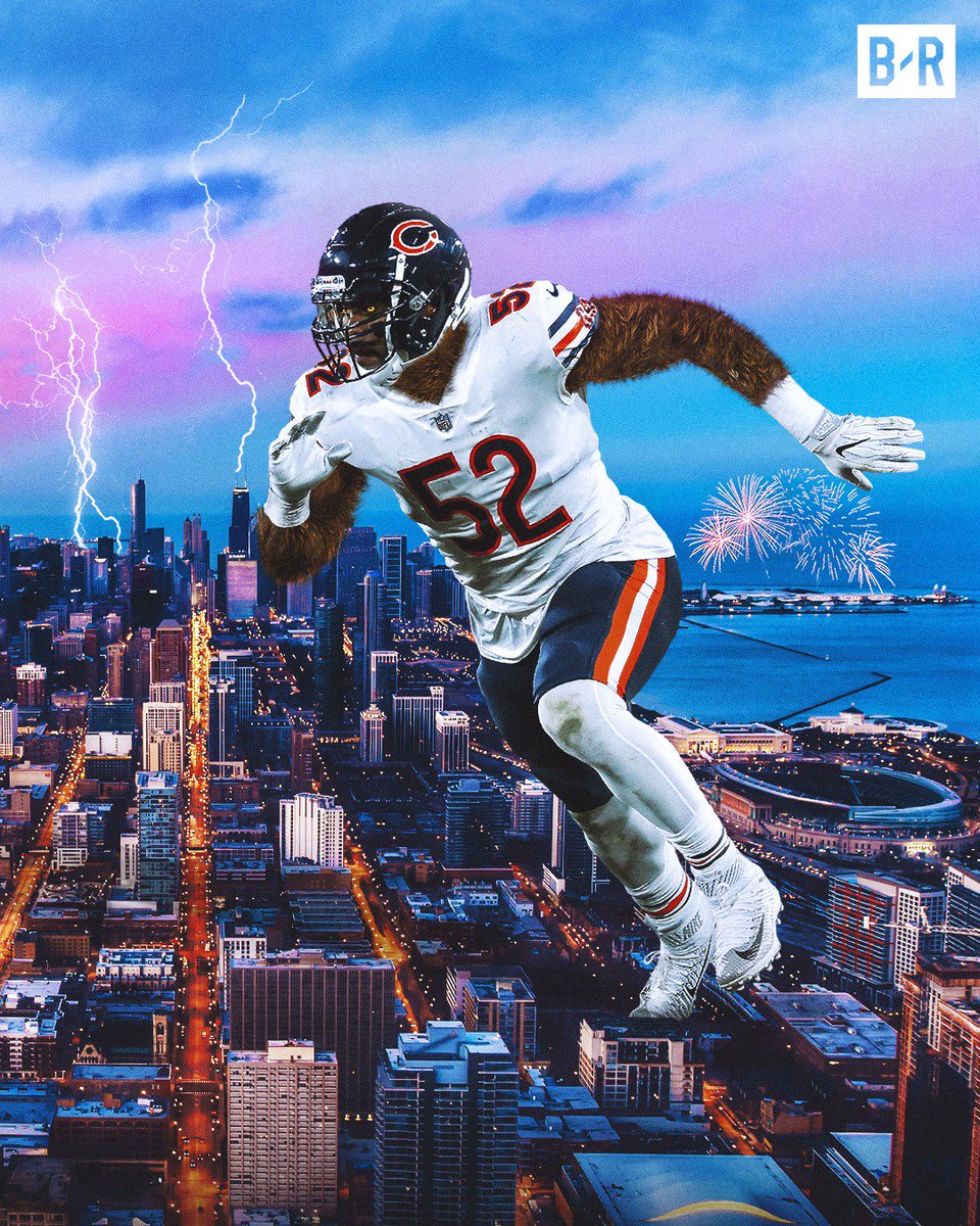 Free Download Bleacher Report On Twitter Khalil Mack Leads The Bears To 960x1200 For Your Desktop Mobile Tablet Explore 23 Khalil Mack Wallpapers Khalil Mack Wallpapers Allison Mack Wallpapers