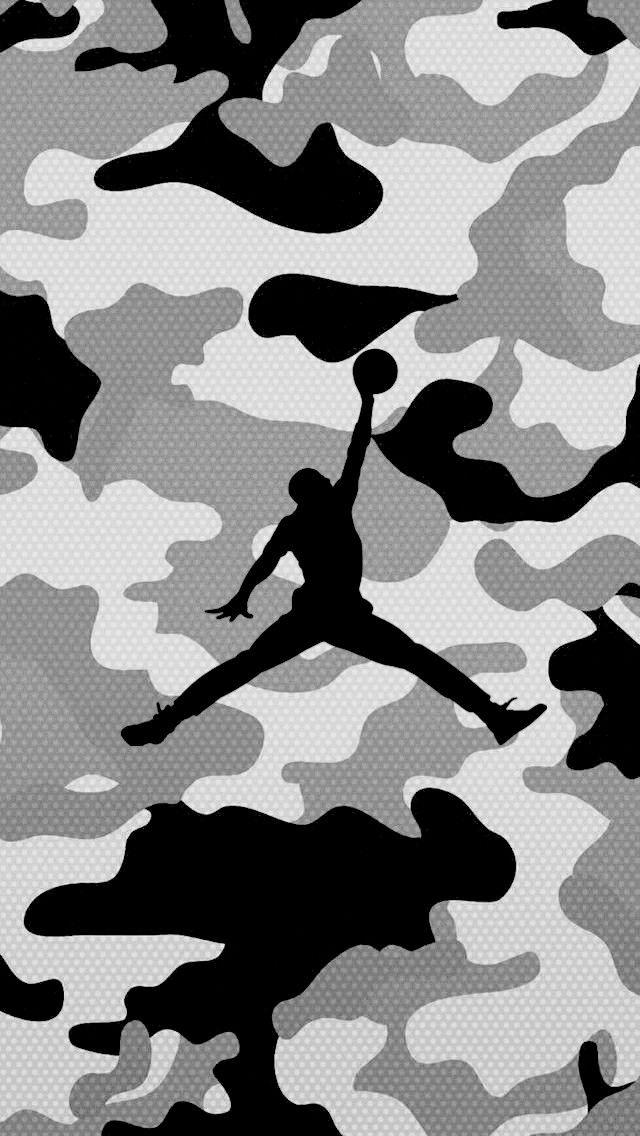 Camo Mike Michael Jordan in 2019 Jordan logo wallpaper Hype 640x1136