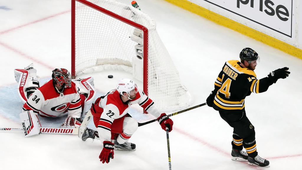Stanley Cup Playoffs Buzz What we learned in Bruins Hurricanes Game 1 1024x576
