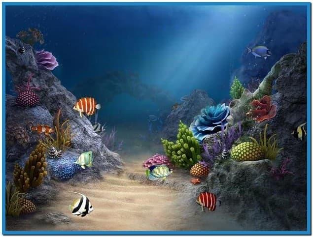 3d sea aquarium screensaver   Download 635x482