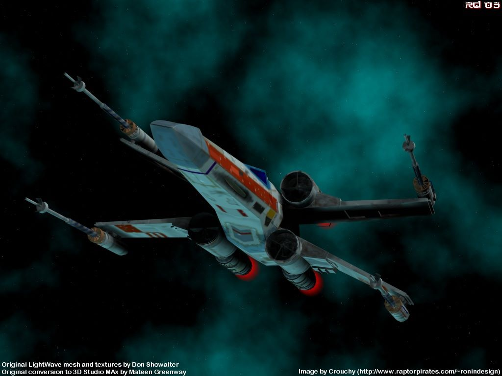 Star Wars Wallpaper x wingjpg 1024 x 768 1024x768