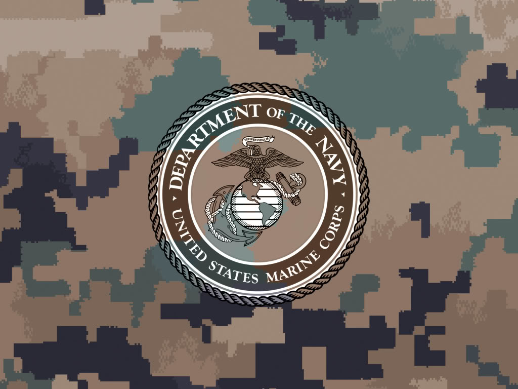 48 Us Marines Logo Wallpaper On Wallpapersafari