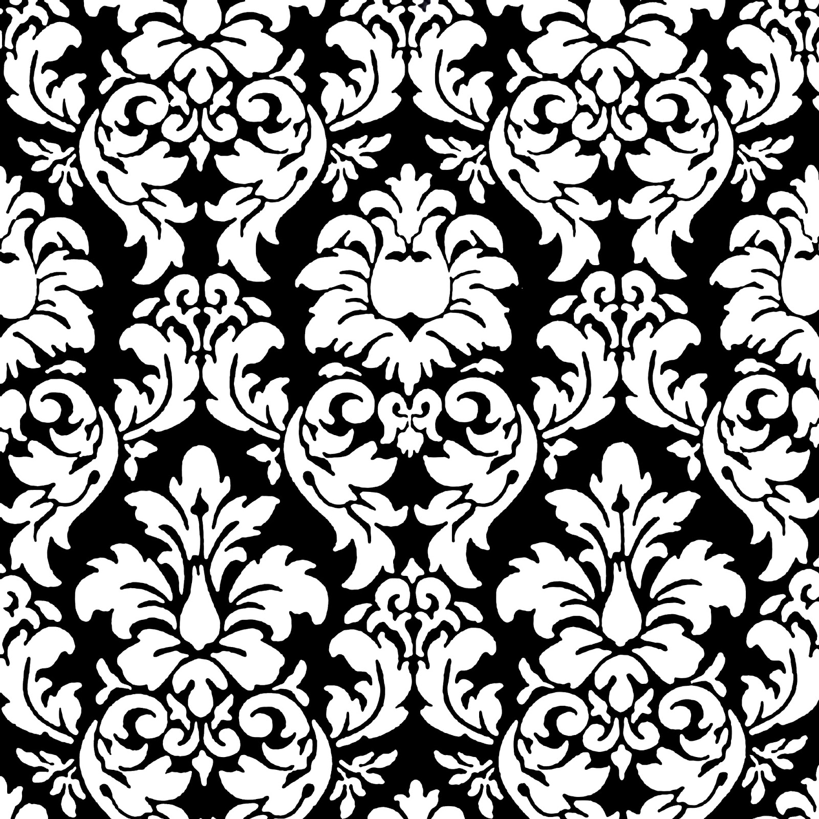 Scrapbook paper designs to print black and white