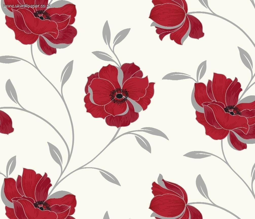 arthouse sophia wallpaper floral red wallpaper 10metres x 52cm 6 99 1006x863