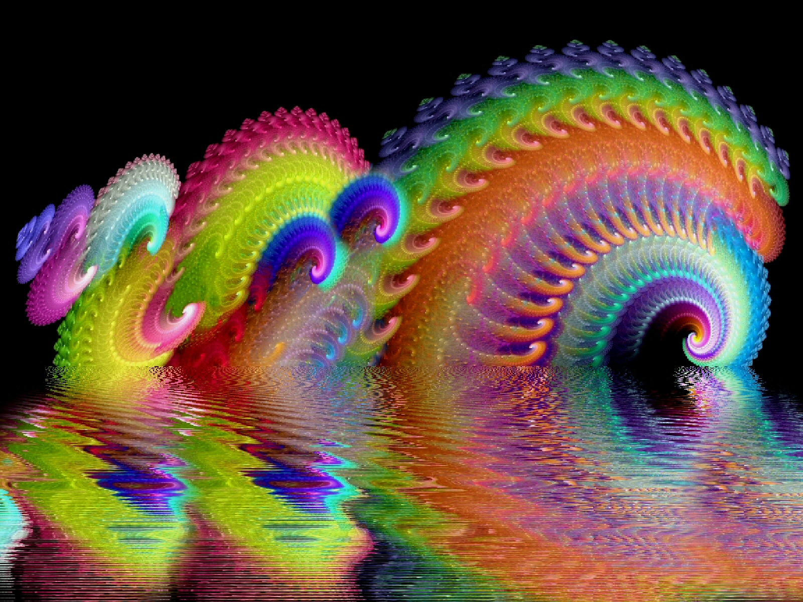 Psychedelic Wallpaper 1600x1200